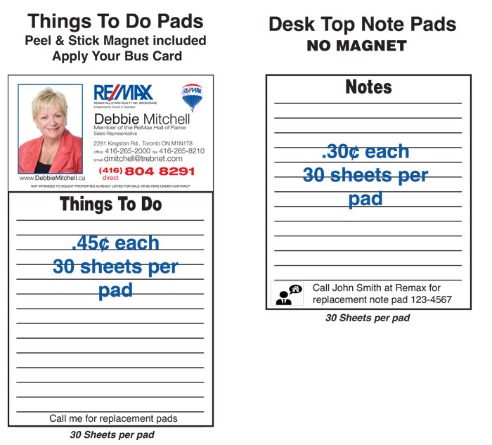 Magnetic Things To Do Pads